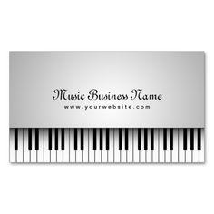 Musicians business card designs vector colourmoves
