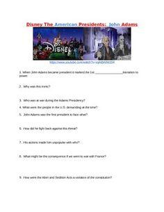 Adams Disney Video Processing John Adams Disney Video Processing by Teaching History Creatively John Adams Presidency, Iphone Texts, Formative Assessment, Teaching History, American Presidents, Text Messages, Teacher Pay Teachers, Disney, Us Presidents