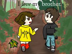 I love taking long philosophical walks with my brother. - SunnyAttic.com