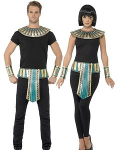 Adult Mens Deluxe Egyptian Ankle Band Male Roman Costume Accessory King Tut