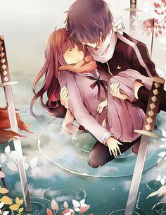Noragami - Yato and Hiyori <3
