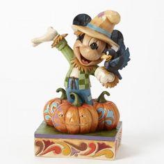 ♥ Harvest Scarecrow-Harvest Mickey Figurine ♥