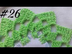 Puntilla Fácil y bonita #26 - Puntillas Brissa - YouTube Crochet Lace, Diy And Crafts, Crochet Earrings, Crochet Patterns, Make It Yourself, Blog, Youtube, Crochet Carpet, Cute Crochet