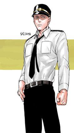 ONE PUNCH MAN, Saitama in Policeman Suit