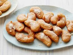 Giada De Laurentiis' Apple Fritters  #Thanksgiving #ThanksgivingFeast #Dessert