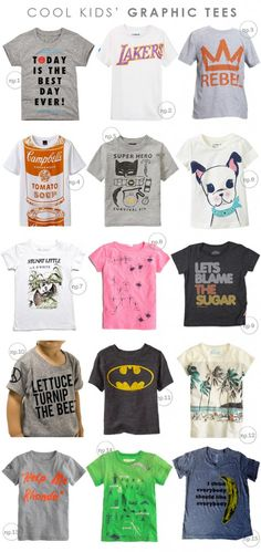 Cool Kids' Graphic Tees | Hellobee