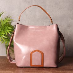 b2a0fcc53ae0 Hot-sale designer Women Oil Leather Elegant Bucket Bag High-end Dating Handbag  Online