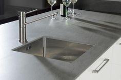 Werkblad keramiek Ceramas Basalt Grey | Kemie