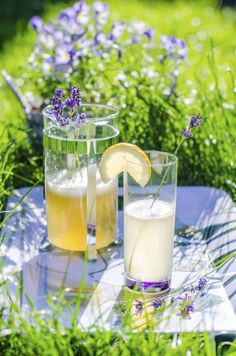 How to make lavender tea and lavender lemonade for your DIY home summer projects