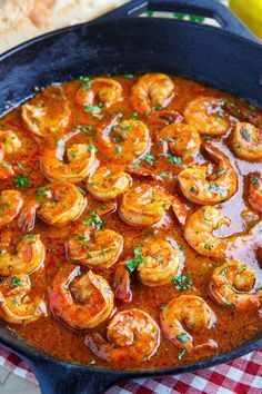 New Orleans BBQ Shrimp More