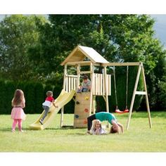 plum Holz Lookout Turm, Altersempfehlung: ab 3 Jahren. online kaufen | OTTO Cubby House Kits, Backyard For Kids, Kit Homes, Toys, Cubbies, Climbing Wall, Kids Yard, Activity Toys, Cubicles