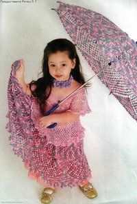 Motley umbrella skirt and crochet. Discussion on LiveInternet - Russian Service Online Diaries Umbrella Skirt, Online Diary, Crochet World, Crochet Things, Umbrellas Parasols, Tropical, Yarn Over, Crochet For Kids, Rubrics
