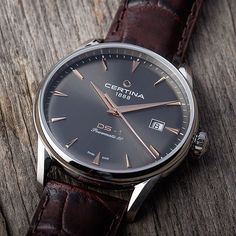That sharp second hand on the iconic Certina DS-1 will show you the perfect time. : @certina . #watch #watches #watchmaking #watchoftheday #wotd #instawatch #dailywatch #luxury #luxurywatch #mywatchsquare #mws #fashion #lifestyle #watchesofinstagram #horology #certina #timepiece #watchLovers #swissmade