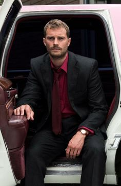 Jamie Dornan -Promotional picture for his new movie