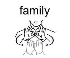 Le mot famille