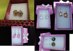 Pendientes identicos Swarovski Dior, Joyería, Pendientes, Bisutería, Pendientes