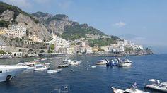 Boats in Amalfi