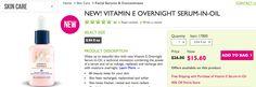 Get VITAMIN E OVERNIGHT SERUM-IN-OIL for Less!