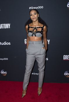 """Kelly McCreary attends the 300th """"Grey's Anatomy"""" Episode Celebration on November 4, 2017, in Hollywood, California."""