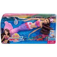 Barbie In A Mermaid Tale 2 Doll Purple Outfit