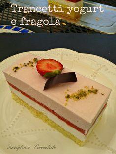 vaniglia e cioccolato: Trancetti allo yogurt ( come ti riciclo gli avanzi)