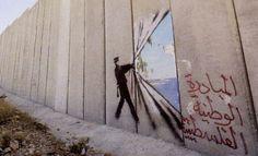 Banksy artiste engagé à bas les murs