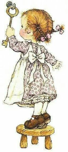 Immagini Sara Kay e Holly Hobbie Sarah Key, Holly Hobbie, Decoupage, Cute Images, Cute Pictures, Art Watercolor, Illustrations, Cute Illustration, Cute Art