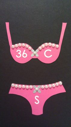 cute idea! put this in the bridal shower invitations/bachelorette party invites so no one has to embarrassingly guess your lingerie size!