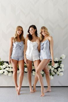 cc1a50adfd Bridal    Pjs    Bridesmaid Sleep Sets    Bridal Sleep Set   Bridal Gift     Monika Ruffle Sleep Set