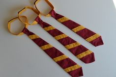 Harry Potter Gryffindor ties