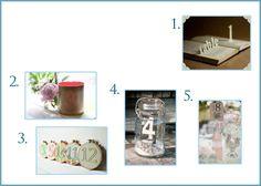 Idee di segnaposti per un matrimonio semplice  www.fioreriasarmeola.com