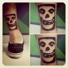 #misfits tattoo done on @brunnodiamante - @Victor Hugo- #webstagram