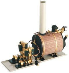 twin steam engine for use in ship models oscillating steam engines