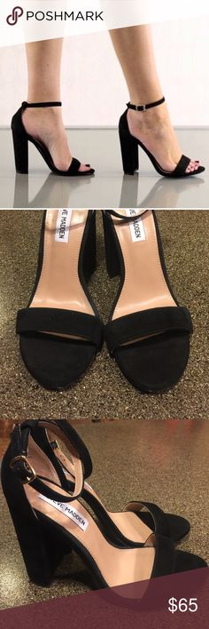 Steve Madden Carrson Suede Block Heel Sandals Sz 9 Steve Madden Carrson Suede Block Heel Sandals Sz 9. In excellent condition with very minimal signs of wear. Steve Madden Shoes Sandals