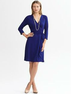 Banana Republic:  Gemma wrap dress