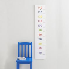 Wooden Height Chart - Rainbow - Height Charts