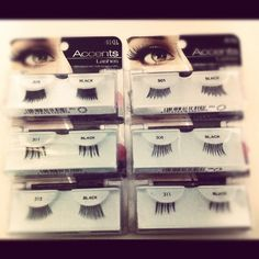 A pack of Ardel lashes