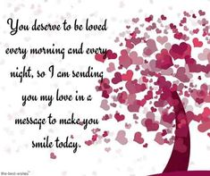 For you, I have collected the best good morning text messages for him and her that will make your loved ones day special with this good morning quotes and texts. Cute Morning Quotes, Morning Poem, Morning Texts For Him, Romantic Good Morning Messages, Cute Good Morning Texts, Love Quotes For Him Romantic, Good Morning Wishes, Cute Love Quotes, Special Friend Quotes