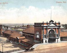 OMAHA, Nebraska - Union Station - Romanesque Style architecture  OL