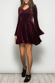 Ya Los Angeles Velvet Party Dress on Shopstyle.