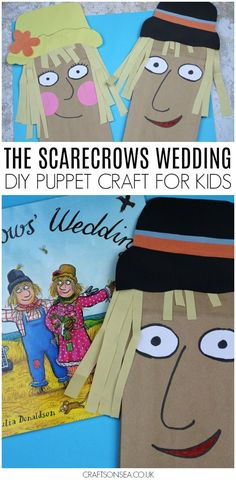 The Scarecrows Wedding Paper Bag Puppet Craft