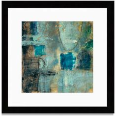 Gallery Direct Tangent Point II by Jane Bellows Painting Print on Canvas Size: Abstract Canvas, Canvas Art Prints, Framed Art Prints, Painting Prints, Canvas Wall Art, Fine Art Prints, Abstract Paintings, Framed Artwork, Outdoor Wall Art