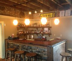 Re-made in Kentucky Bourbon Barrel, Tasting Room, Crafty Craft, Kentucky, Liquor Cabinet, Storage, House, Furniture, Basement Ideas