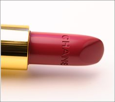 Chanel Destinee Rouge Coco Lipstick. I'm convinced this is some of the best lipstick in the world.