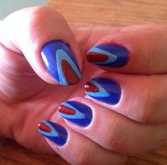 Layers of color #nails #nailpolish #nailart