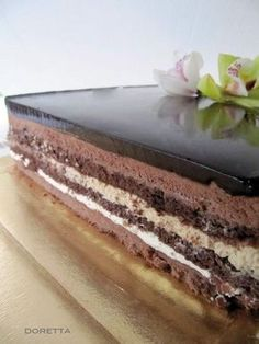 Setteveli in Spanish with good pictures Italian Desserts, Italian Recipes, Great Desserts, Dessert Recipes, Torte Cake, Cupcakes, English Food, Mousse Cake, Bakery Recipes