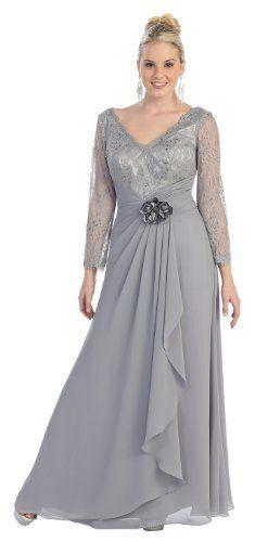 Mother of the Bride Formal Evening Dress #813 (Medium, Silver) US Fairytailes,http://www.amazon.com/dp/B009JM8UG6/ref=cm_sw_r_pi_dp_QiWFrb12BF4HS5CA