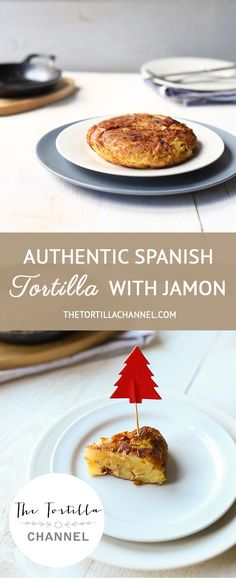 Authentic Spanish tortilla with Serrano ham mad in a mini cast iron skillet Tapas Recipes, Wrap Recipes, Mexican Food Recipes, Sweet Recipes, Healthy Tortilla, Tortilla Recipes, Spanish Tortilla Recipe, Spanish Omelette, Recipes With Naan Bread