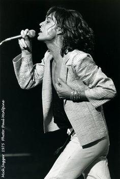 Mick Jagger Photo: Paul McAlpine