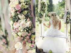 """Gorgeous Garden"" Wedding 